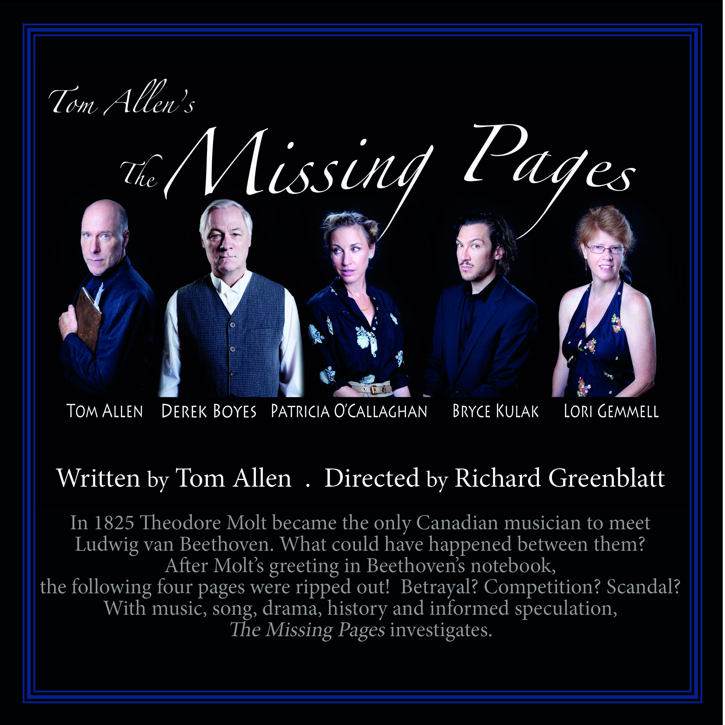 Missing Pages- Cast